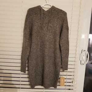 Yes lola warm cozy hooded sweater. Small